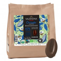 Dark Chocolate Couverture Oriado Organic 60% (1kg)