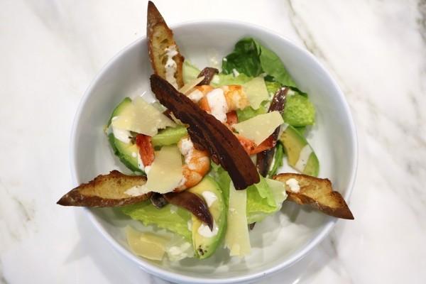 Caledonia Obsiblue Prawn Caesar Salad