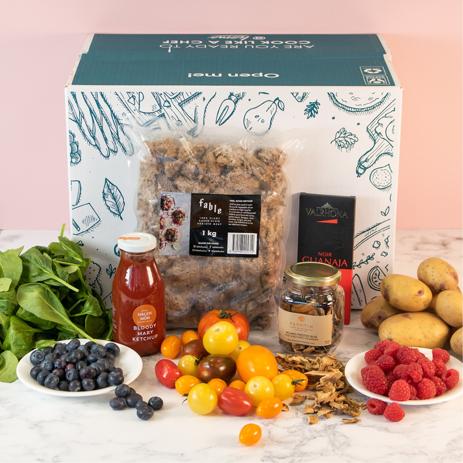 premium vegan box